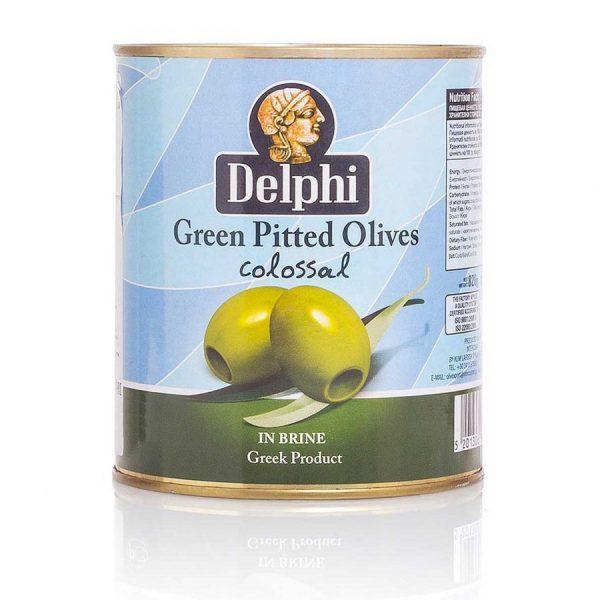 Оливки без косточки Colossal 120-140- 820г