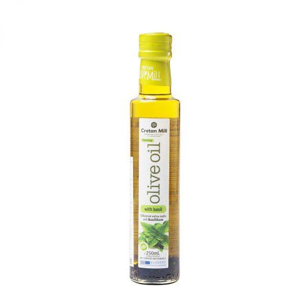 Масло оливковое Extra virgin с базиликом