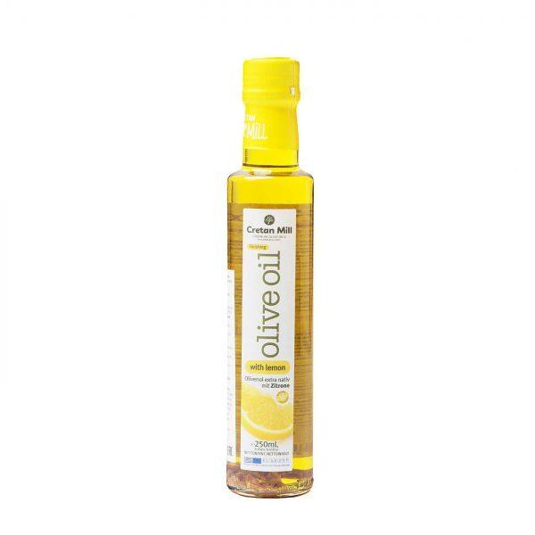 Масло оливковое Extra virgin с лимоном 250г