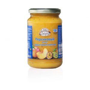 25.0001Десерт персиковый с фруктовым миксом