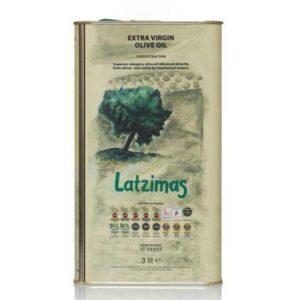 maslo-olivkovoe extra virgin latzimas gold 3l
