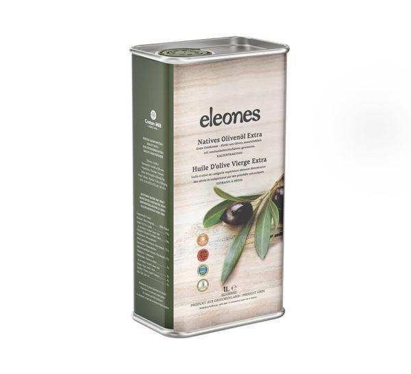 81.0075Масло оливковоеExtra Virgin Eleones Cretan Mill 1л