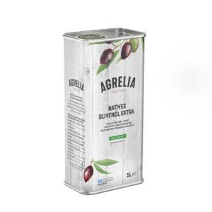 Масло оливковое Extra Virgin Agrelia Cretan Mill 5л